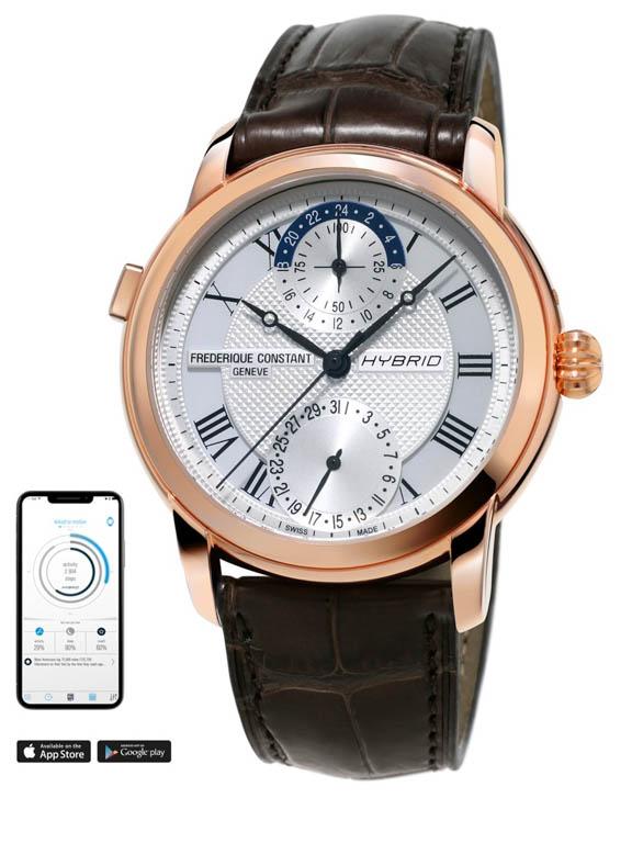 Kết quả hình ảnh cho Điểm qua về thiết kế đồng hồ Frederique Constant Hybrid Manufacture